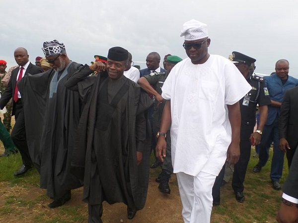Image result for osinbajo with state governors