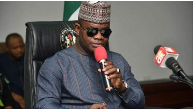"""Yahaya Bello - """" PDP Is The Reason I Can't Pay Workers' Salaries, Pensions in Kogi"""" – Gov. Yahaya Bello"""