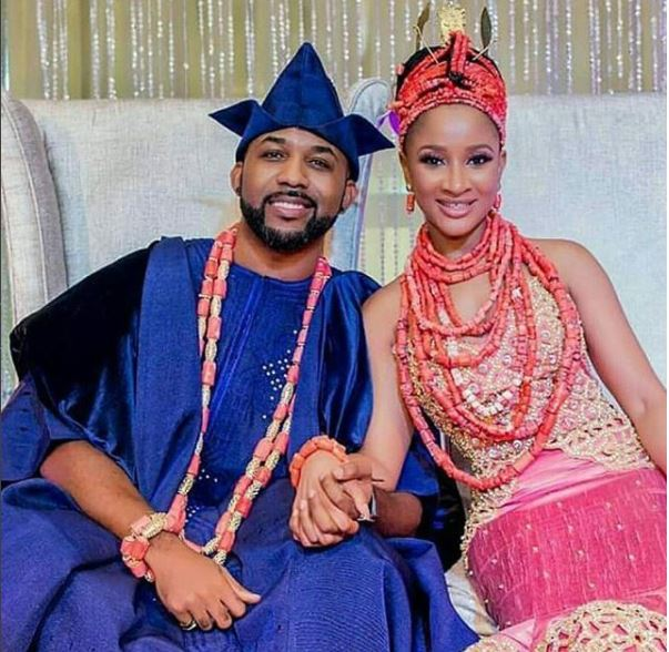 Image result for banky w and adesua etomi traditional wedding