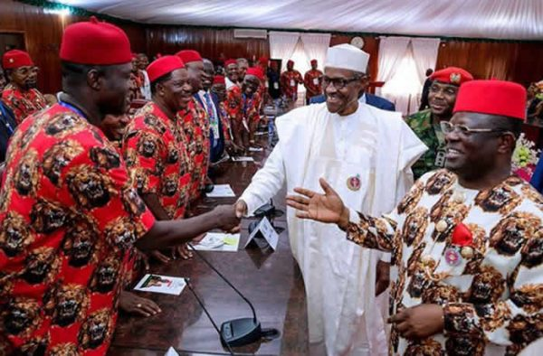 Image result for Buhari with Igbo,