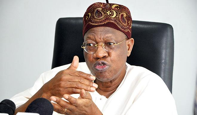 "Lai Mohammed.. - ""Selling Buhari To The International Community Was An Easy Task"" – Lai Mohammed"
