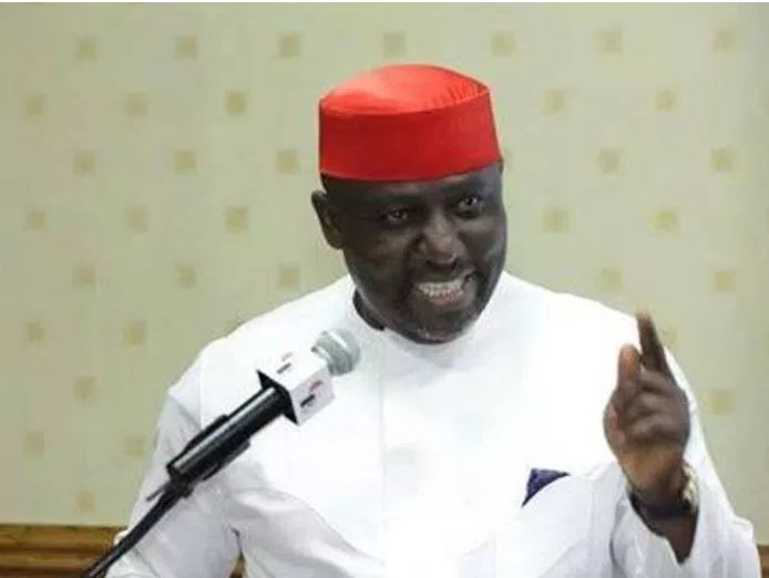 "Okorocha 1 - ""Don't Reduce INEC To A Tool In The Hands of Politicians"" – Okorocha To Yakubu"