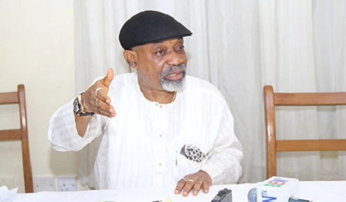 chris ngige picture - Minimum wage demand will lead to mass sack of workers -Ngige