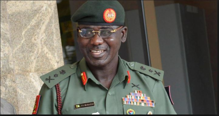 "Buratai - ""Defeated Politicians Sponsoring Boko Haram And Responsible For Increased Insecurity In The Country"" – BurataiTukur Yusuf Buratai"