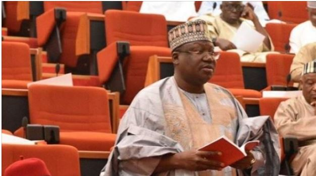 Lawan 1 - 'Nothing like jumbo pay, My monthly salary is N750,000 – Senate President, Lawan
