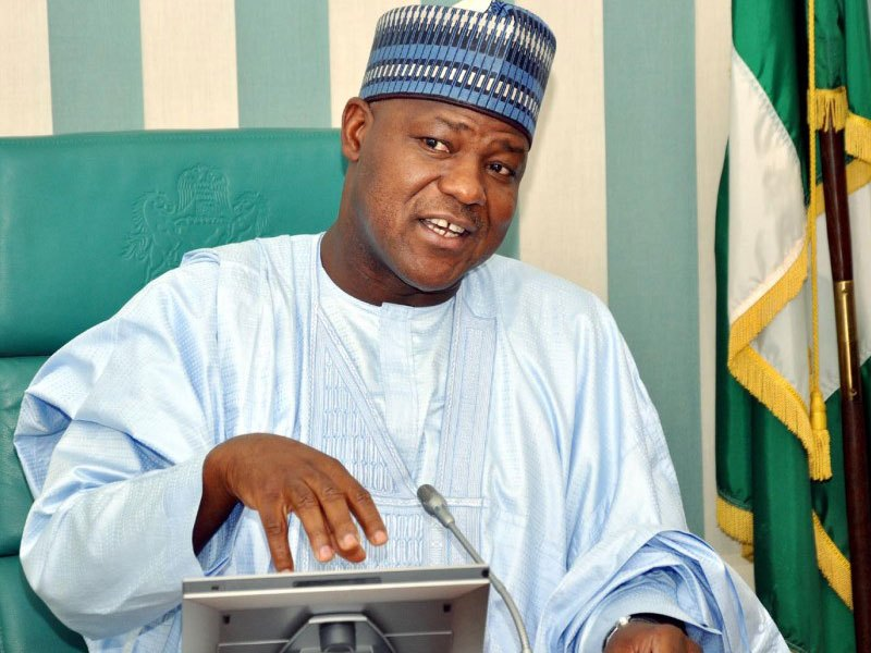 "Yakubu Dogara - ""You Are Ignorant And Don't Have The Monopoly of Gutter Language"" – Dogara Fires Back At Tinubu:"