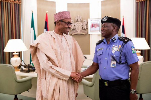 president muhammadu buhari meets with security chiefs as he resumes