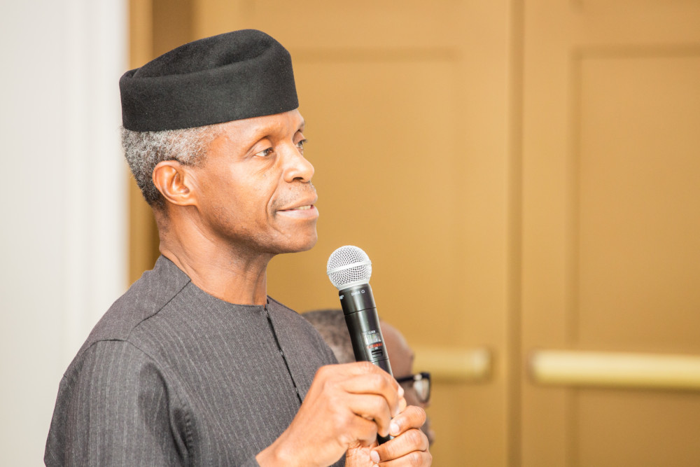 Osinbajo 1 - 'Why I didn't attend Wole Soyinka awards' -Osinbajo