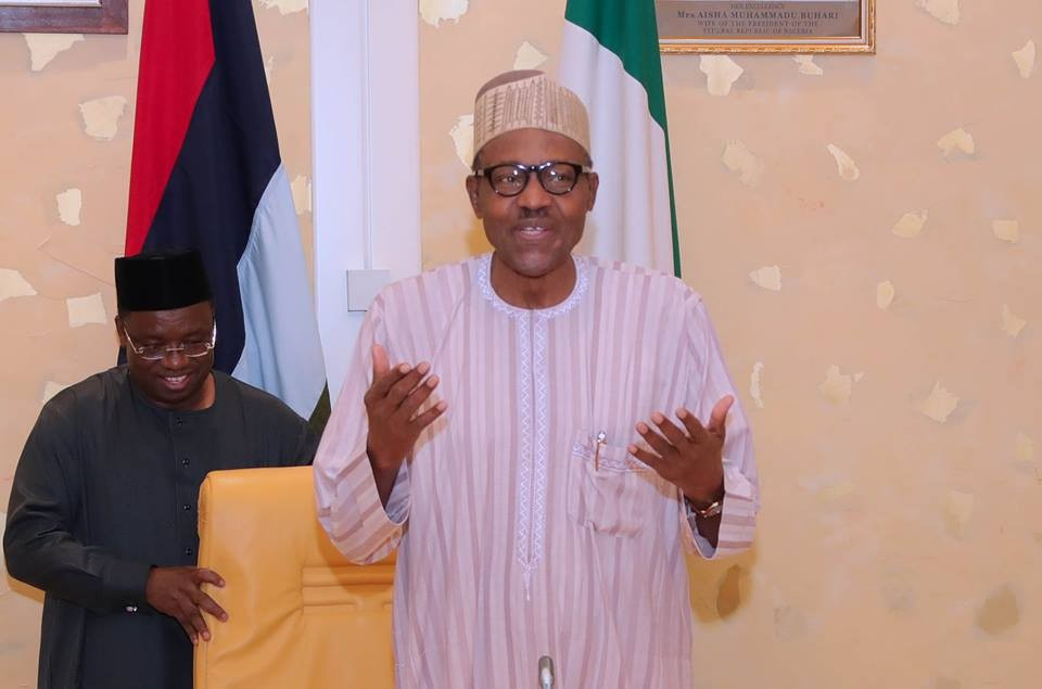 "buhari and governors2 - ""I May Be Slow But I Do Not Loot"" – President Buhari"