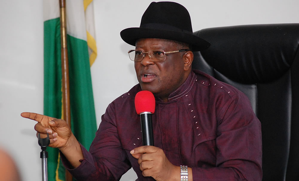 david umahi 1 - I will sack any of my aides who insults Buhari – Umahi