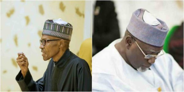 Image result for How sacked DSS boss betrayed Buhari – report