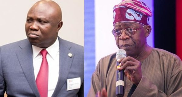 """ambode tinubu 600x321 - Dear Asiwaju, you have shown your power but please, Don't Fire The Bullet, Ambode Deserves A Second Chance"""" – Dele Momodu Writes"""