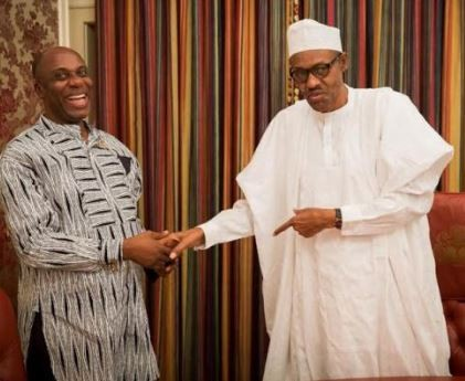 buhari amaechi - Buhari assured me of second term in office – Amaechi