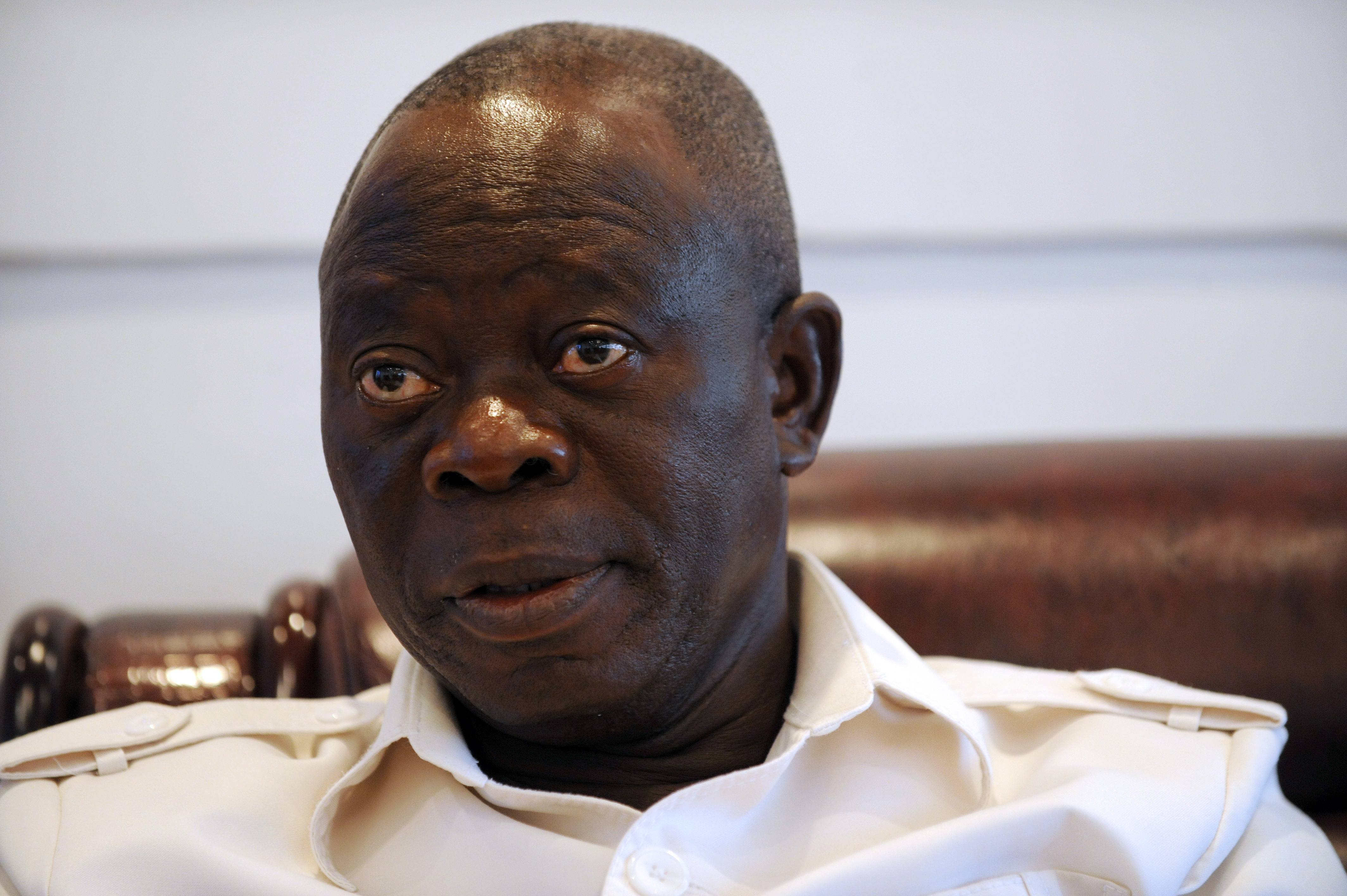 """oshiomole - """"Do I Look Like Someone Who Can Appoint And Impose Somebody on The Senate?"""" – Oshiomole"""