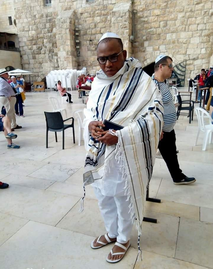 Nnamdi Kanu And Supporters Spotted In Jerusalem - [BREAKING] Court Order's Nnamdi Kanu's Arrest, Revokes Bail