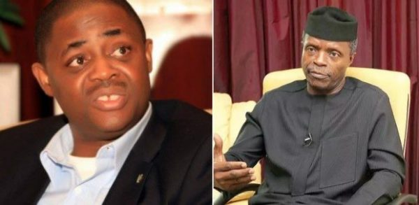 "Osinabjo ffk 600x293 - ""Osinbajo Is Only A Minister By Name"" – Femi Fani-Kayode"