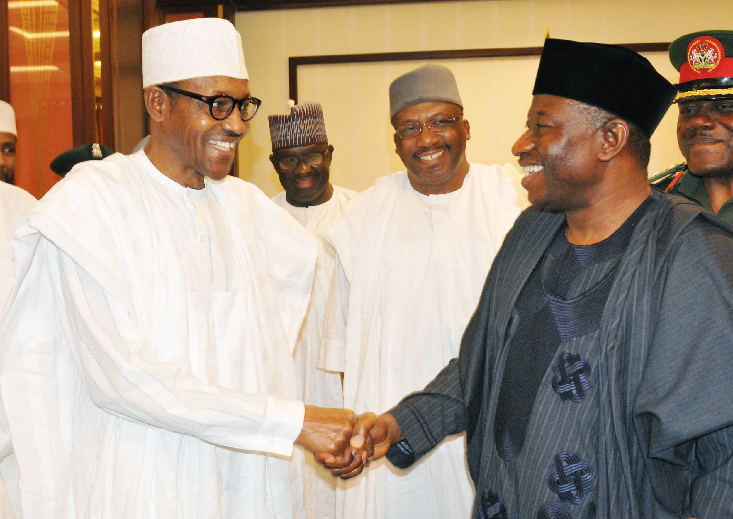 Image result for Buhari To Jonathan: Your Life An Inspiration To Nigerians