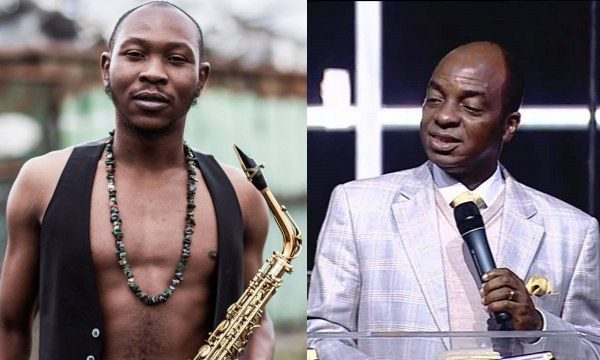 "Seun Kuti 600x360 - ""You Can Be 'Dangerously Rich' Doesn't Mean You Can Buy Enough Knowledge"" – Seun Kuti To Bishop Oyedepo"