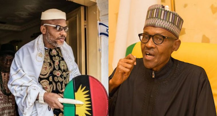 "nnAMDI KANU BUHARI - ""They Are Now Quoting Our Leader For Their Lega; Battles"" – IPON Reats To Claims Atiku Is Not Nigerian"