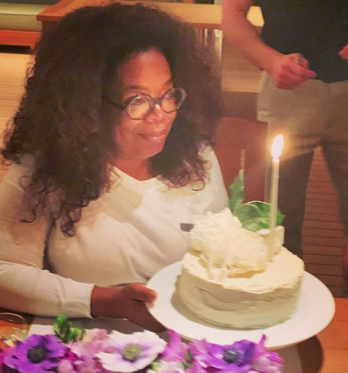 Oprah Winfrey Celebrates 65th Birthday In Grand Style 1 - [PHOTOS] Oprah Winfrey Celebrates 65th Birthday In Style