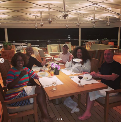Oprah Winfrey Celebrates 65th Birthday In Grand Style - [PHOTOS] Oprah Winfrey Celebrates 65th Birthday In Style