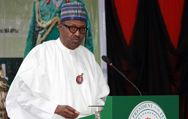 buhari - I'm not sleeping on duty – President Buhari