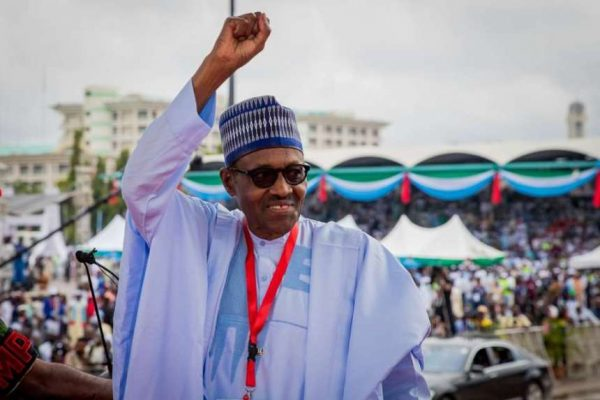 "President Muhammadu Buhari campaign 600x400 - ""I Want To Assure You That The Next Four Years Will Be Peaceful"" – Buhari"