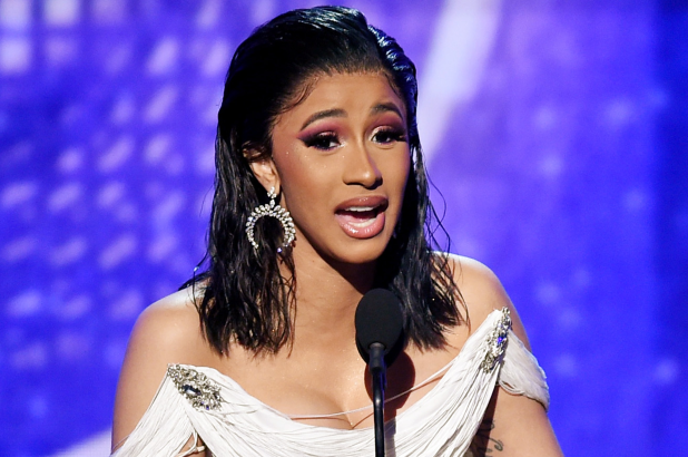 cardi b - Cardi B Becomes First Solo Female Artiste to Win Grammy for Best Rap Album