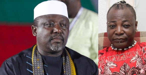 "Charly Boy and Rochas Okorocha - ""We Shall Be Witnesses To Your Being Nailed At The Cross"" – Charly Boy Tells Rochas Okorocha"