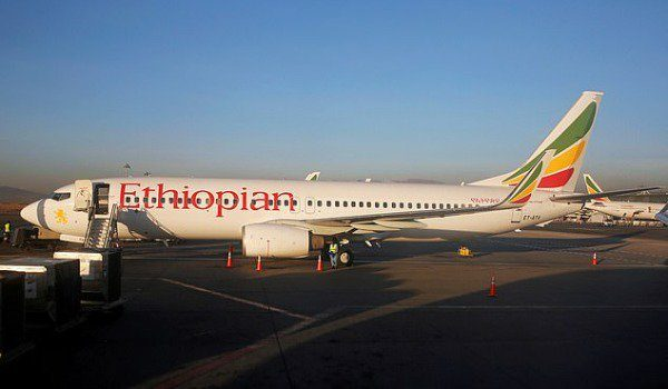 Ethiopian Aircraft 600x350 - 157 Feared Dead As Ethiopian Airlines Plane Crashes