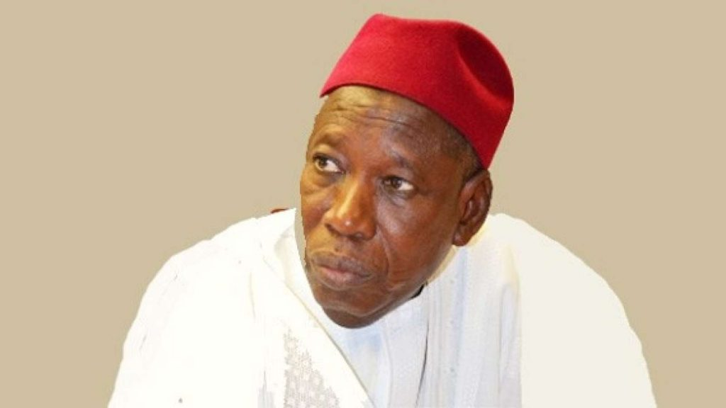 Gov Abdullahi Ganduje 1024x576 - Ganduje gets 'Best Governor in 100 Days in office' award