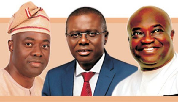 Governor elects 600x343 - 2019 Elections: List of Governors-elect, States, Political Parties