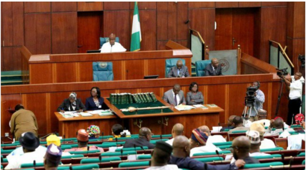 House of reps 600x334 - [FULL LIST] APC Leading PDP With Over 100 Seats In House of Reps