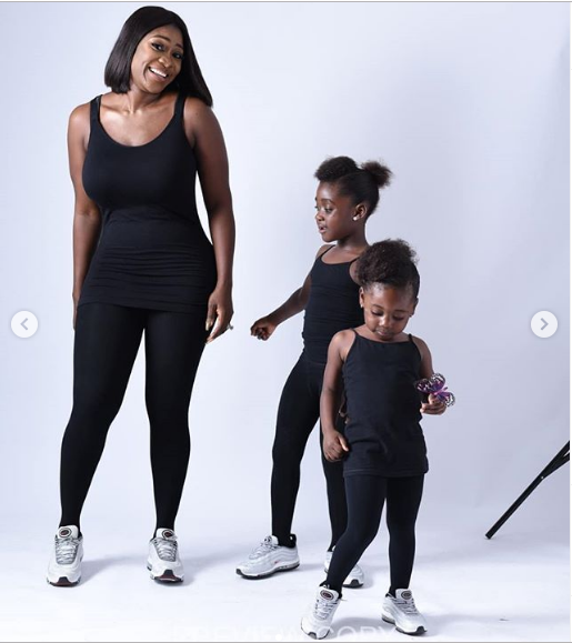 "Mercy Johnson - [PHOTOS] ""My Biggest Fear In Life Is Not Being Alive To Take Care And Watch Over My Kids"" – Mercy Johnson-Okojie"