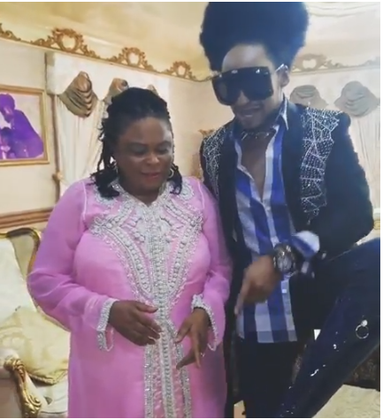Patience Jonathan and Denrele 1 - [VIDEO] Denrele Edun Praises Former First Lady Patience Jonathan