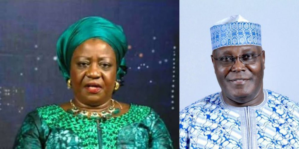 "Atiku Onochie - ""Be Glad You're Not Yet In Jail"" – Presidency Threatens Atiku"