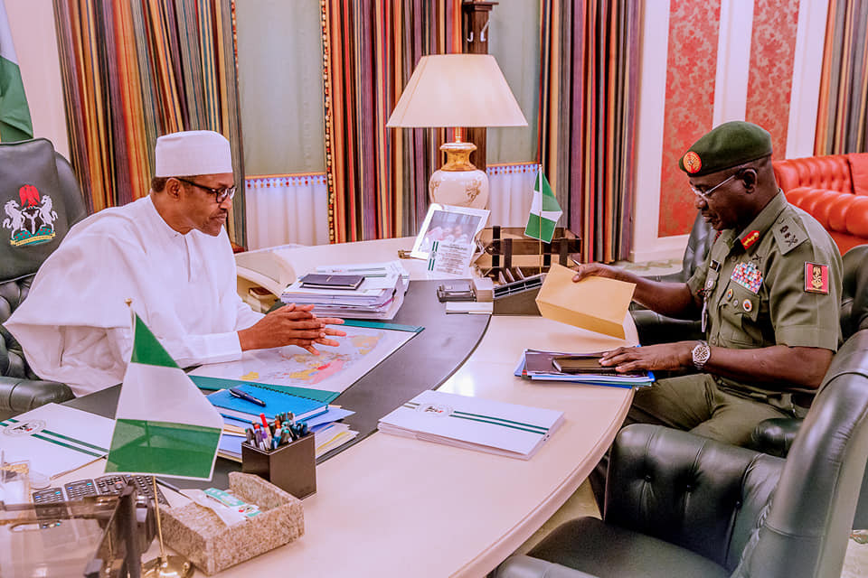 "Buhari and security chief - ""Deal Ruthlessly With Bandits, Kidnappers, Others"" – Buhari Orders"