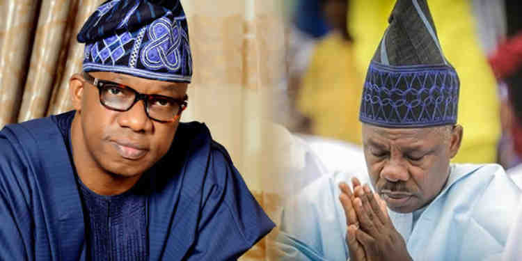 "Dapo Abiodun and Amosun - ""The Government House Is Ready If You Want To Move In"" – Amosun Tells Governor-elect, Dapo Abiodun"