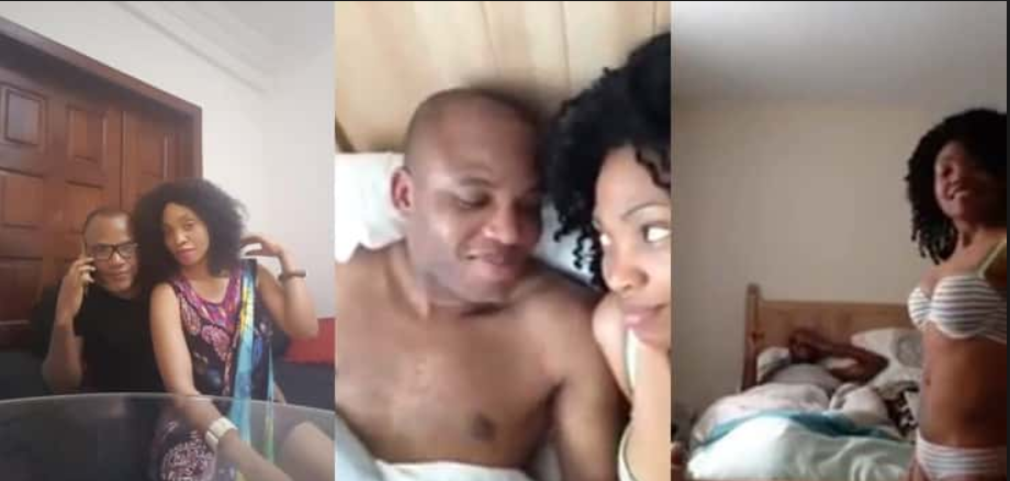 "Nnamdi kanu and wife - ""You Are Intoxicatingly Beautiful"" – Nnamdi Kanu Reacts To Viral Video Of Him And Wife In Bed"