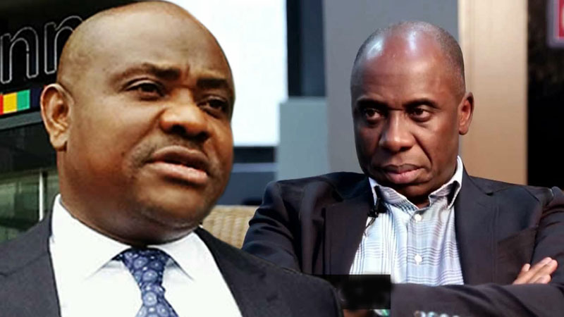 "Wike and Amaechi - ""We Cannot As Leaders Continue To Remain Divided"" – Wike Addresses Amaechi"