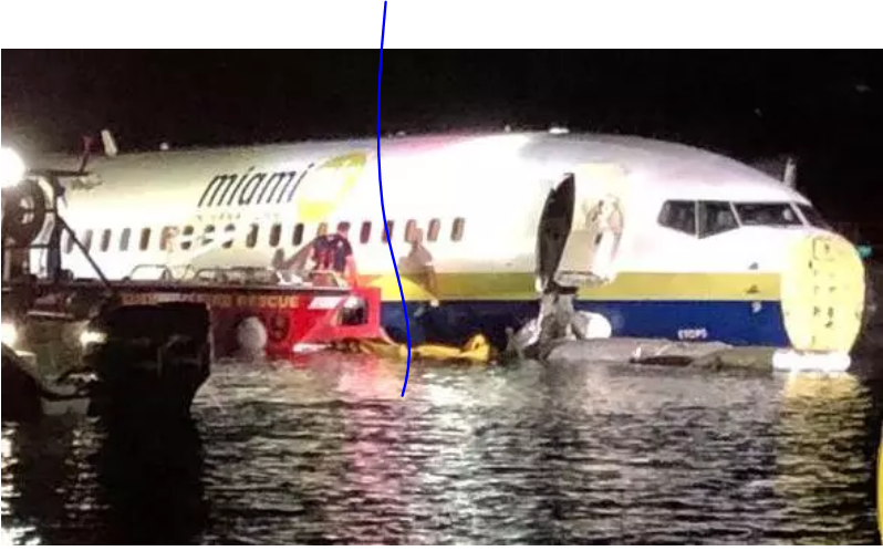 Boeing - Boeing 737 With 136 Passengers Falls Into Florida River
