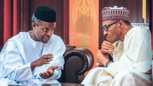 "Buhari and Osinbajo - ""Why I Warned Osinbajo"" – Buhari"
