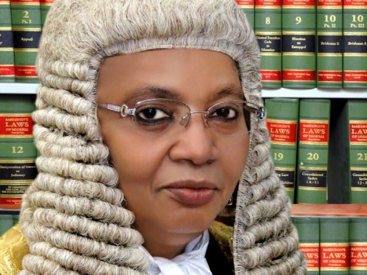 Justice Zanaib Bulkachuwa - [VIDEO] Names Of The Justices Of The 2019 Presidential Election Petition