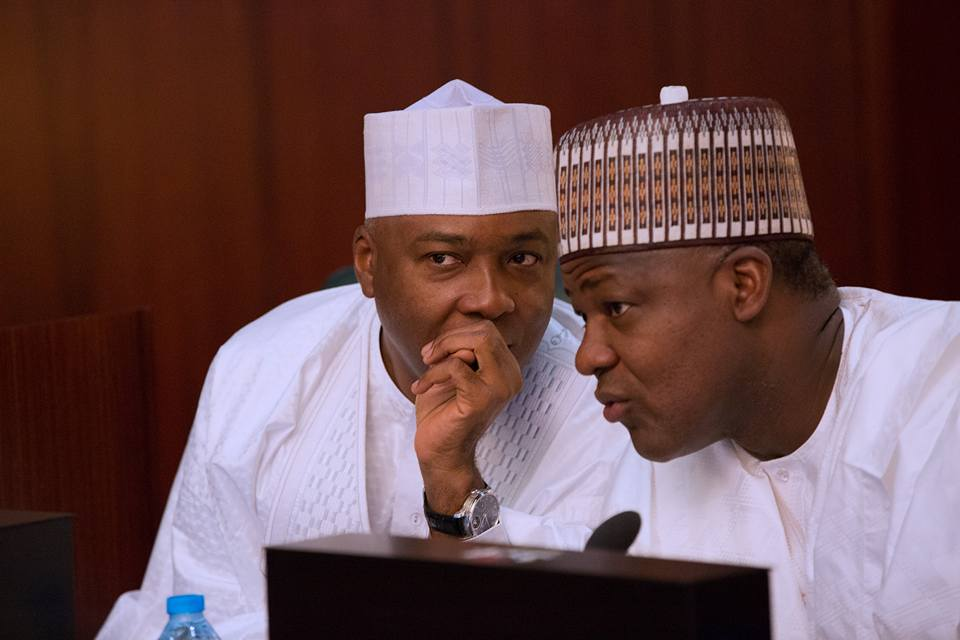"Saraki and Dogara - ""Saraki, Dogara's 'Coup' Won't Happen Again"" – Presidency"