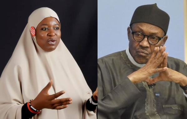 "Aisha Yesufu - ""I Wonder How Buhari Became A General Considering Insecurity"" – Aisha Yesufu"