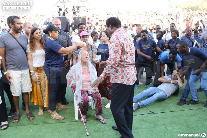 Another woman who could not walk later waalked e1561410516407 - [PHOTOS] TB Joshua draws huge crowd as he performs miracles in Nazareth
