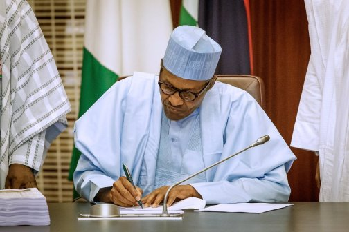 Buhari signs June 12 bill - Buhari has reduced the presidency to Fuji House of Commotion – PDP