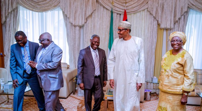 astor kumuyi 696x385 - Don't Attack Buhari – Kumuyi Advises Christians