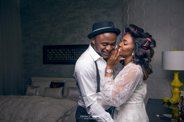 Ubi Franklin and Lilian Esoro pre wedding photos 4 - Court Throws Out The Divorce Case Between Ubi Franklin & His Estranged Actress Wife, Lilian Esoro