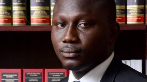 youngest san muyiwa - [PHOTO] 34-year-old Unilorin graduate, 37 others conferred with SAN